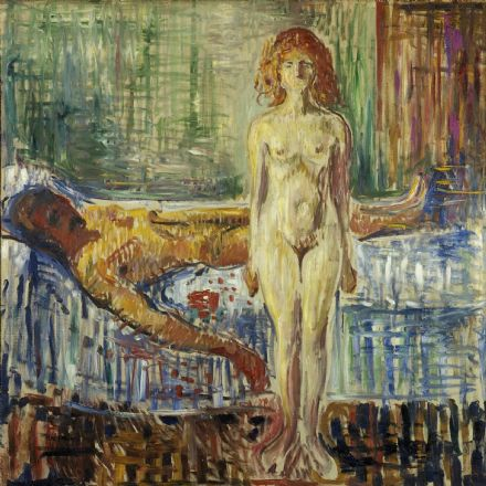 Munch, Edvard: The Death of Marat II. Fine Art Print/Poster (0096)